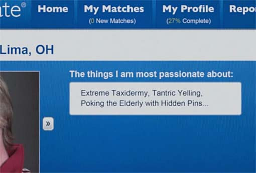 Dating profile what am i passionate about